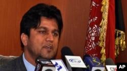 Wakil Menteri Pekerjaan Umum Afghanistan, Ahmad Shah Wahid diculik di Kabul utara, Selasa (15/4) pagi (foto: dok).