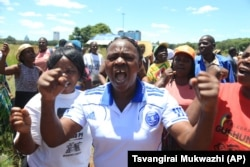 Zimbabwean war veterans who had gathered to demonstrate against a faction within the ruling Zanu PF party, reportedly led by Vice President Emmerson Mnangagwa, vent their anger after they were dispersed by police using tear gas and water cannons.