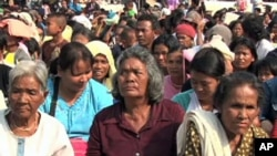Border clashes have left thousands of villagers homeless from Thai-Cambodia border area.