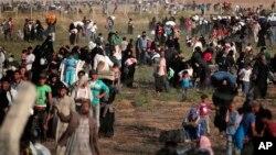 La guerra civil y la persecución ha originado que millones de sirios abandonen sus hogares generando una crisis de refugiados a nivel internacional.