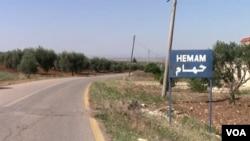 Selo Hamam u Afrinu uništeno je u granatiranju turskih snaga