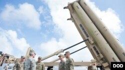 """Sistem pertahanan udara dan rudal paling canggih """"THAAD"""" (foto: dok)."""