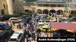 Les locaux du palais de justice de N'Djamena, le 7 juin 2019. (VOA/André Kodmadjingar)