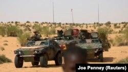 Des militaires français en patrouille à Tombouctou, Mali, 6 novembre 2014.