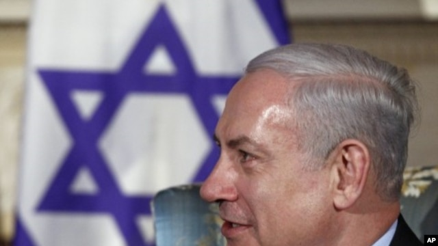 Israel's Prime Minister Benjamin Netanyahu in Ottawa, Canada, March 2, 2012.