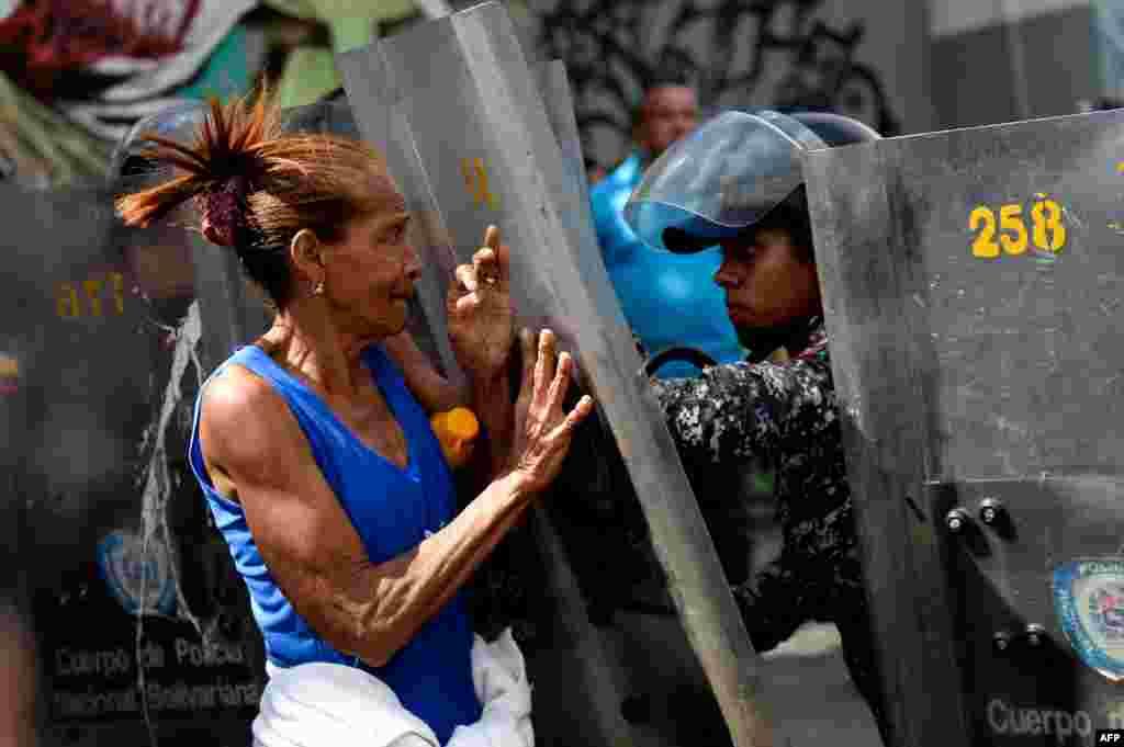 Namoyish. Karakas, Venesuela