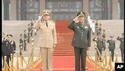 馬倫上將到訪中國軍事基地