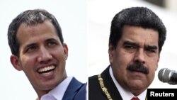 Lider opozicije u Venecueli Huan Gvaido i Nikolas Maduro, predsednik Venecuele