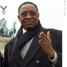 Deposed President Mamadou Tandja