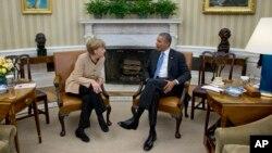 APTOPIX Obama Germany Merkel