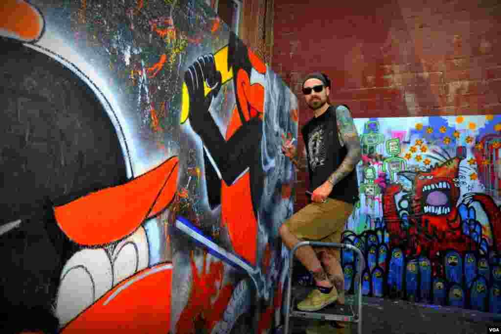 Мастер граффити