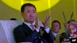 Tỉ phú Vương Kiện Lâm, Chủ tịch tập đoàn Dalian Wanda
