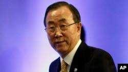Ban Ki-moon, secretario general de la ONU, confía en que la crisis de Venezuela esté llegando a su fin gracias al diálogo iniciado entre gobierno y oposición.