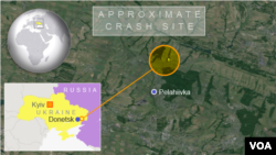 Approximate Crash Site