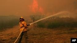 Μεγάλες καταστροφές από τις πυρκαγιές στο Τέξας