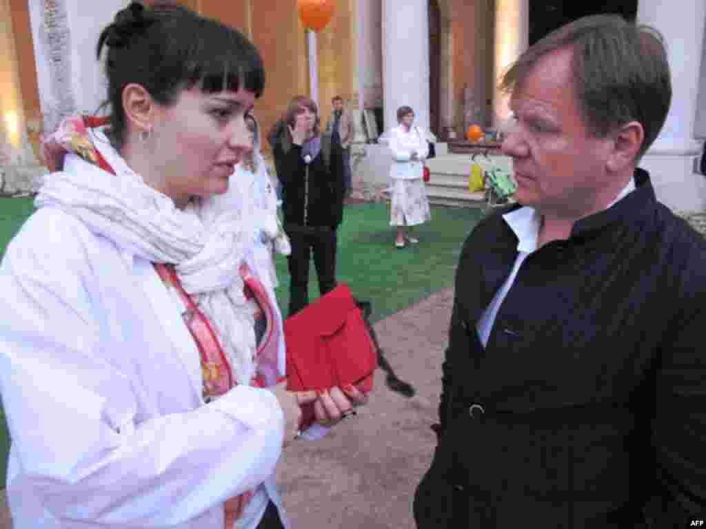 Мария Семушкина и Игорь Бутман обсуждают новые проекты