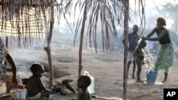 Liberiyadagi qochoqlar lageri, 25-may, 2011-yil.