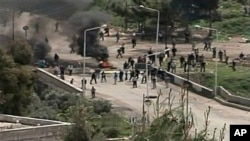敘利亞發生示威衝突。