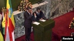 Ông Hailemariam Desalegn tuyên thệ nhậm chức Thủ tướng