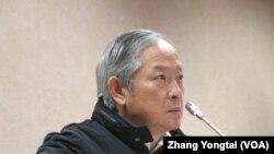 台灣執政黨國民黨立委林郁方 (美國之音張永泰拍攝)