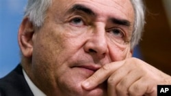 Former International Monetary Fund chief Dominique Strauss-Kahn (File)