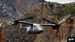 NATO nói máy bay loại CV-22 Osprey của Mỹ thực hiện công tác xâm nhập đường dài và tiếp tế cho các lực lượng Hoa Kỳ