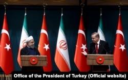 İran Cumhurbaşkanı Hasan Ruhani Nisan ayında Ankara'da resmi temaslarda bulunmuştu.