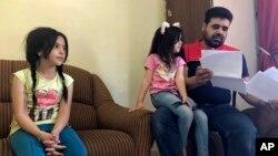 Keluarga pengungsi Suriah tinggal di sebuah apartemen di Amman, Yordania menunggu untuk diberangkatkan ke AS (foto: ilustrasi).