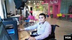 محمد سعید، مخترع و شاگرد مکتب تکنالوژی نوو