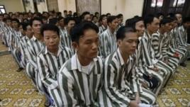 Tù nhân trong một trại giam ở Hà Nội (ảnh tư liệu)