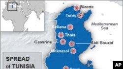 تونس 2 کهس دهسـتگیردهکات که گومان دهکرێت پهیوهندیان به قاعیدهوه ههبێت