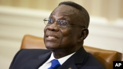 Ghana's President John Evans Atta Mills.