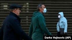 Epidemiološka situacija u Srbiji je pod kontrolom u najvećem delu Srbije, osim lokalnih žarišta, Foto: (AP Photo/Darko Vojinovic)