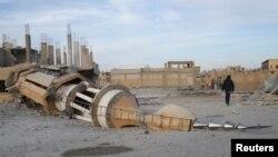 ການໂຈມຕີ ທາງອາກາດ ຕໍ່ເມືອງ Raqqa