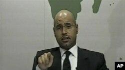 """پسر قذافی: """"لیبیا ، مصر وتونس نیست."""""""