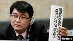 Duta Besar Urusan Perlucutan Senjata Korea Utara, Ju Yong Choi (foto: dok).