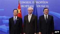 Kineski premijer i predsednici Evropskog saveta i Evropske komisije na samitu u Briselu