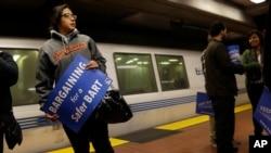 Sindicatos no logran acuerdo salarial con la administración de Bay Area Rapid Transit.