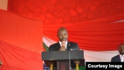 Rais Pierre Nkurunziza