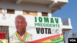 Eleições Guiné Bissau 2014 - cartaz JOMAV