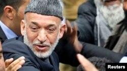 Le président afghan, Hamid Karzaï