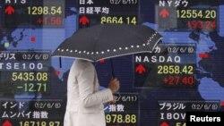 Chỉ số thị trường chứng khoán Tokyo tăng hơn 2% trong những giờ đầu của phiên giao dịch hôm thứ Hai, 11/6/2012