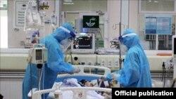 Phi công người Anh nhiễm Covid-19 được chữa trị tại Việt Nam (Bộ Y Tếi)