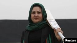 دیانا بارکزی بنیانگذار تیم کرکت زنان افغانستان