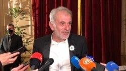 Izudin Bajrović, glumac u filmu Quo vadis Aida