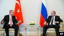 رهبران ترکیه و روسیه در حاشیه نشست جی-۲۰ در چین ملاقات کردند. سپتامبر ۲۰۱۶