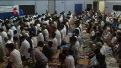 Sholat Idul Fitri di Ibukota AS dan Sekitarnya