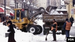 Los servicios meteorológicos en Alemania anunciaron temperaturas de hasta 28 grados bajo.