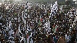 تظاهرات اسلامگرايان در پاکستان برای قطع رابطه با آمريکا