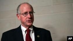 Le député républicain Mike Conaway, qui préside le Comité de renseignement de la chambre des représentants, à Washington, le 16 janvier 2018.